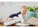 Боди с длинным рукавом Lucky Child Классик, размер 18 (56-62) Молочный