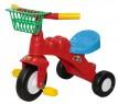 Велосипед Полесье Малыш с корзинкой красный 46192
