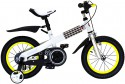 "Велосипед Royal baby Steel Buttons White Frame 14"" желтый"