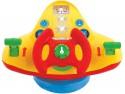 Интерактивная игрушка Kiddieland Штурвал самолета от 1 года разноцветный