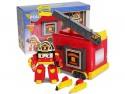 Игровой набор Poli Robocar Кейс с трансформером Рой 12.5 см и гаражом от 3 лет 83073