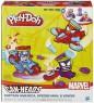 Набор для лепки Hasbro Play-Doh Транспортные средства героев Марвел от 3 лет В0606