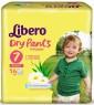 Трусики Libero Dry Pants 7 (16-26 кг) 14 шт.