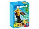 Конструктор Playmobil Динозавры, охотники за сокровищами Охранник сокровищ с зеленым светящимся оружием 4848PM