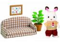 Игровой набор Sylvanian Families Папа на диване 4 предмета 2201