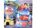 Интерактивная игрушка ZURU РобоРыбка с 2 кораллами, замком и аквариумом от 3 лет разноцветный 2533