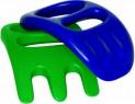 Песочный набор Gowi Совок-рука 2 предмета красно-синий