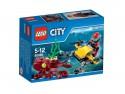 Конструктор Lego City Глубоководный скутер 42 элемента 60090