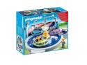 Конструктор Playmobil Парк Развлечений: Аттракцион Звездолет с огнями 37 элементов 5554pm