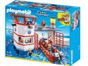 Конструктор Playmobil Береговая охрана: Береговая станция с маяком 132 элемента 5539pm