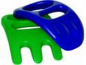 Песочный набор Gowi Совок-рука сине-зеленый 2 предмета