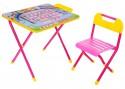 Набор мебели №1 Алфавит розовый ДЭМИ АР.1