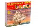Корабль Моделист фрегат Боном Ричард 1:400 коричневый ПН140001 подарочный набор