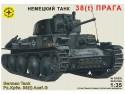 Танк Моделист 38(t) Прага 1:35 303538