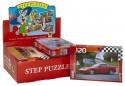 Пазл Step Puzzle Золотая серия -10, машины 120 элементов 75010