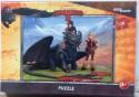 Пазл Step Puzzle Как приручить дракона 2 Астрид и Иккинг на Беззубике 120 элементов 75126
