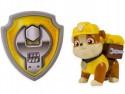 Фигурка Spin Master Paw Patrol спасателя с рюкзаком-трансформером Rubble 20070744