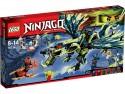 Конструктор Lego Ниндзяго Атака Дракона Морро 658 элементов 70736