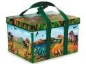 Ящик для игрушек с крышкой Disney Динозавр текстиль разноцветный А1081Х4