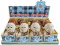 Мягкая игрушка обезьянка Fluffy Family 681154 плюш бежевый 12 см