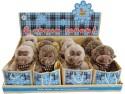 Мягкая игрушка обезьянка Fluffy Family 681154 плюш коричневый 12 см