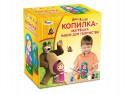 Набор для творчества Играем вместе Multiart Маша и Медведь - Копилка-матрешка от 3 лет 3599-MASHA
