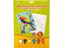 Набор для творчества Multi Art Раскраска по номерам Попугай от 5 лет PBN6036