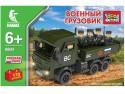 Конструктор Город Мастеров Военный грузовик Камаз 170 элементов BB-8804-R1