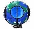 Тюбинг RT Глобус с автокамерой синий ПВХ