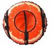 Тюбинг RT Апельсин с автокамерой до 100 кг оранжевый ПВХ 4997