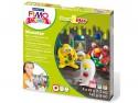 """Детский набор """"Монстр"""" из полимерной глины FIMO kids form&play  8034 11 LZ"""