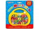 Интерактивная игрушка Азбукварик Плеер Мультяшка от 1 года жёлтый 007-9