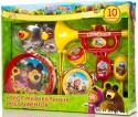 Набор музыкальных инструментов Играем Вместе Маша и Медведь B817295-R2
