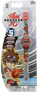 Часы наручные электронные Bakugan Dan серый BKRJ6-1