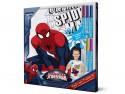 SM001-s6 Футболка с фломастерами для раскрашивания Spider-Man-Возраст 6 лет/Рост 116 см