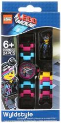 Часы наручные аналоговые Lego Movie с минифигурой Wyldstyle на ремешке разноцветный 8020233