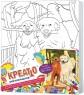 Набор для росписи по холсту Креатто Две собаки от 7 лет 21599