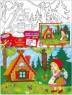 Набор для росписи по холсту Креатто Красная шапочка от 5 лет 23236
