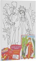 Набор для росписи по холсту Креатто Царевна от 3 лет 23275