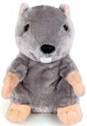 Интерактивная игрушка Fluffy Family Бобер повторяшка от 3 лет 681012 коричневый