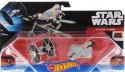 Игровой набор Hot Wheels 2 звездных корабля Star Wars Tie Fighter vs Ghost от 4 лет CGW90