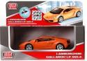 Автомобиль Технопарк Lamborghini Gallardo LP 560-4 инерционный 1:43 оранжевый 67324