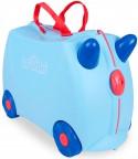 Чемодан на колесах Trunki Джордж (лимитированный выпуск) 18 л голубой 0248-GB01