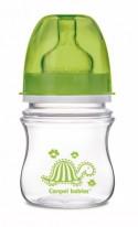 Бутылочка для кормления Canpol 35/205 120 мл с 3 месяцев зеленый