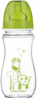 Бутылочка для кормления Canpol EasyStart 300 мл с 9 месяцев зеленый 35/204