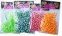 Набор для плетения Shantou Gepai Желто-красные резиночки от 4 лет 200 шт 63998