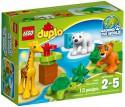 Конструктор Lego Duplo Вокруг света: малыши 13 элементов 10801