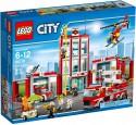 Конструктор Lego City Пожарная часть 919 элементов 60110