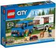 Конструктор Lego City Фургон и дом на колёсах 250 элементов 60117