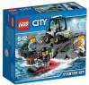 Конструктор Lego City Набор для начинающих: Остров-тюрьма 92 элемента 60127